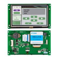 5.0 800*480 LCD TFT Module Touch Monitor STVA050WT 03