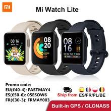 Xiaomi Mi Watch Lite Smart Watch GPS Bluetooth Mi Watch Fitness Smartwatch Sleep Monitor frequenza cardiaca Mi Band versione globale
