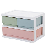 Cosmetic Makeup Storage Case Home Office Desktop Jewelry Organizer Plastic Toys Container