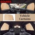 Легкий в установке автомобильный занавес для окна от солнца для Kia Rio 3 Ceed Toyota Corolla 2008 Avensis C-HR RAV4 Mazda 3 6 автомобильные аксессуары