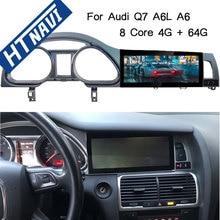 8 ядерный Android 9,0 автомобильный мультимедийный плеер Bluetooth 4G wifi gps навигация Автомагнитола 1Din стерео dvd-плеер для Audi Q7 A6 A6L