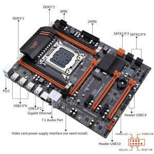 Image 4 - Kllisre X79 motherboard set mit Xeon E5 2640 4x8GB = 32GB 1600MHz DDR3 ECC REG speicher ATX USB 3,0 SATA3 PCI E NVME M.2 SSD