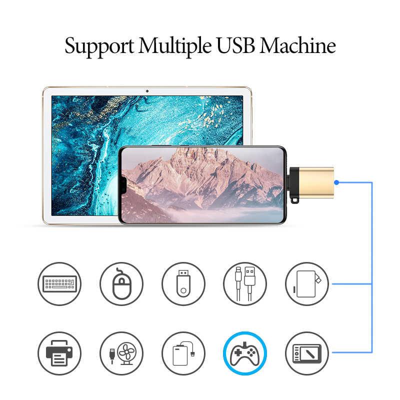 ANBERNIC di Tipo C a USB 3.0 OTG Adattatore per Samsung S10 S9 Xiaomi Mi Macbook Pro Huawei Console di Gioco RG350M & Gamepad Connettore