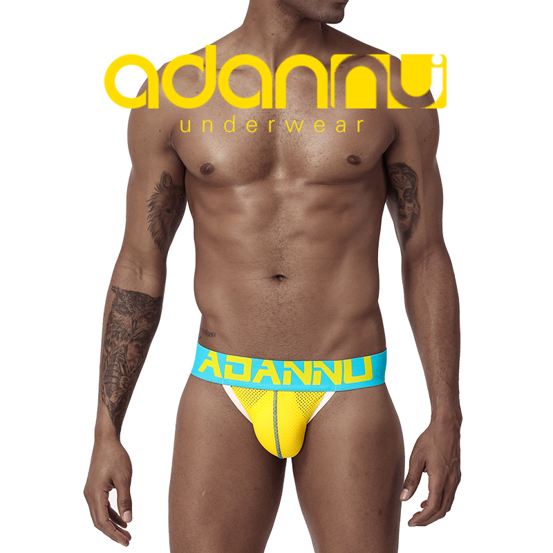 Man Sexy Gay Underwear Men Thong Men Jockstrap Mens Thongs And G Strings Sissy Panties String Men Lingerie AD154