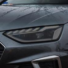 2 шт., автомобильная фара, тонированная Черная защитная пленка, прозрачная наклейка из ТПУ для Audi A4 B8 B9 8K 8W S4 RS4, аксессуары