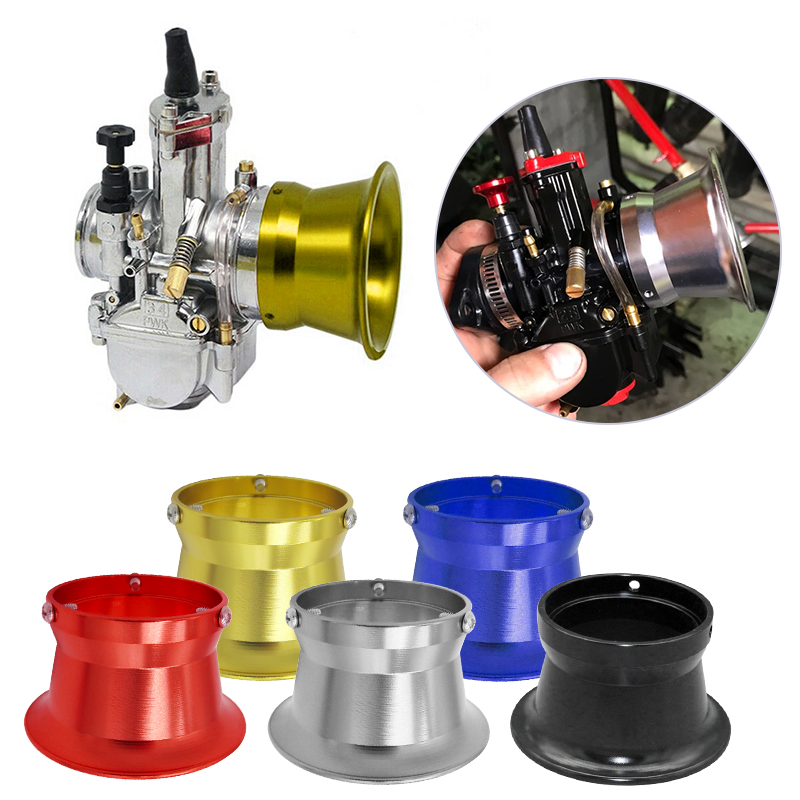 50mm Motorcyle Carburetor Air Filter Wind Cup Horn Cup For 24/26/28/30mm Honda KTM For Yamaha For Harley BMW Moto Accessories image