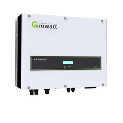 Growatt Grid Inverters 8000w 8KW 9000w 9kw 10000w 10KW 11000W 11KW 380v 3 Phrase Dual MPPT Pure Sine Wave Wifi Mornitor Grid Tie