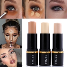 Concealer Stick Cover Freckles Fine Lines Hide Pores Even Skin Tone Seamless Foundation Stick