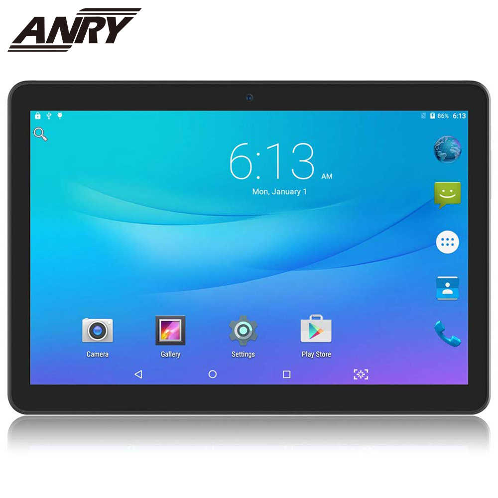 Anry 10.1 Inch 3G Telefoongesprekken Tablet Android 7.0 MTK6580 16 Gb Rom Ips Scherm 1280*800 Bluetooth wifi Tablet Pc Kind Gift