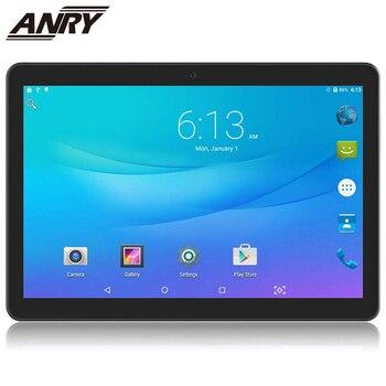 ANRY 10,1 pulgadas 3G 4G Dula Sim llamadas de teléfono tableta ordenador Android 7.0.IPS pantalla 1280*800 tableta con Bluetooth y wifi ordenador niño regalo