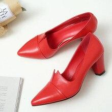 Cresfimix sapatos azul moda feminina apontou toe de alta qualidade deslizamento em bombas para o clube noturno senhora clássico sapatos de salto preto c6001
