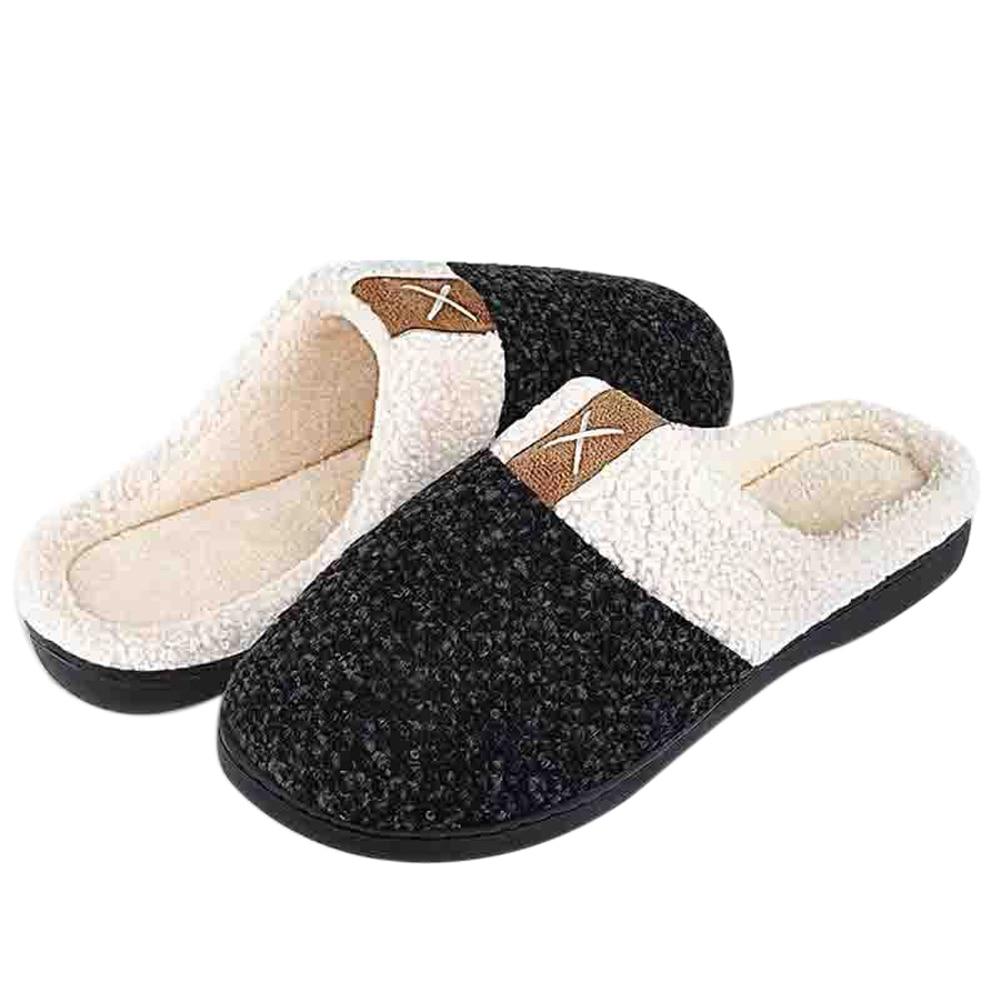 memory foam slippers by comforpedic