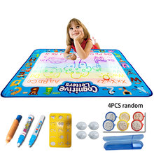 Magic Water Drawing Mat Board Coloring Book Set Toys For Child Children Carpet Cloth Color Draw Toy Water Craft Paint Kid Doodle