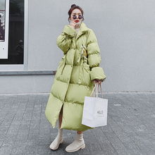 Female Coat Women Jacket Oversized White-Duck-Down Winter Casual Warm Thick Autumn B26
