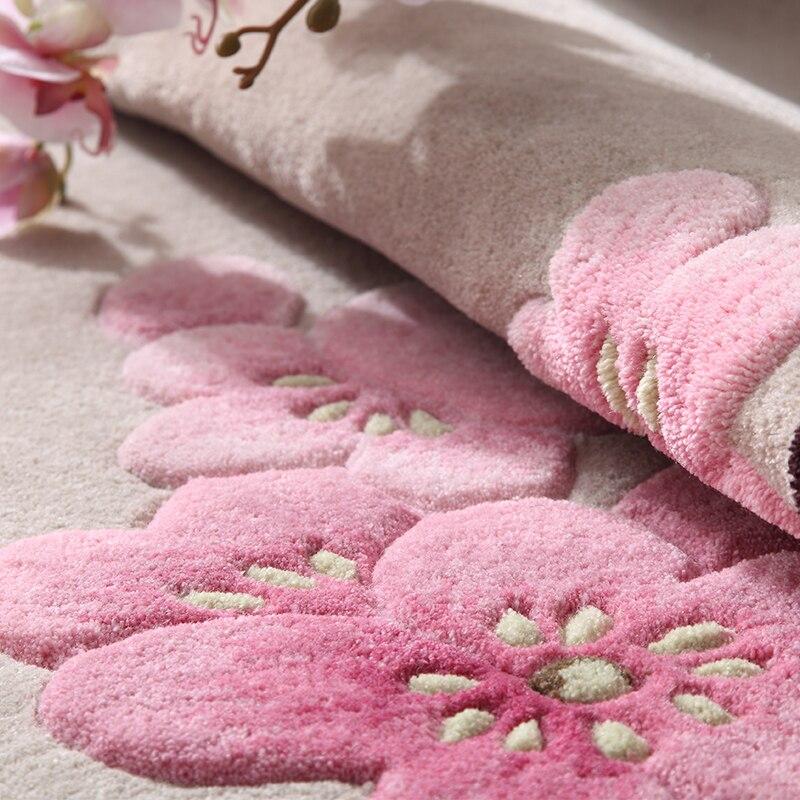Living Room Wool Carpet Modern Minimalist Hotel Study Tea Table Sofa Beautiful New Chinese Bedroom Full Of Lovely