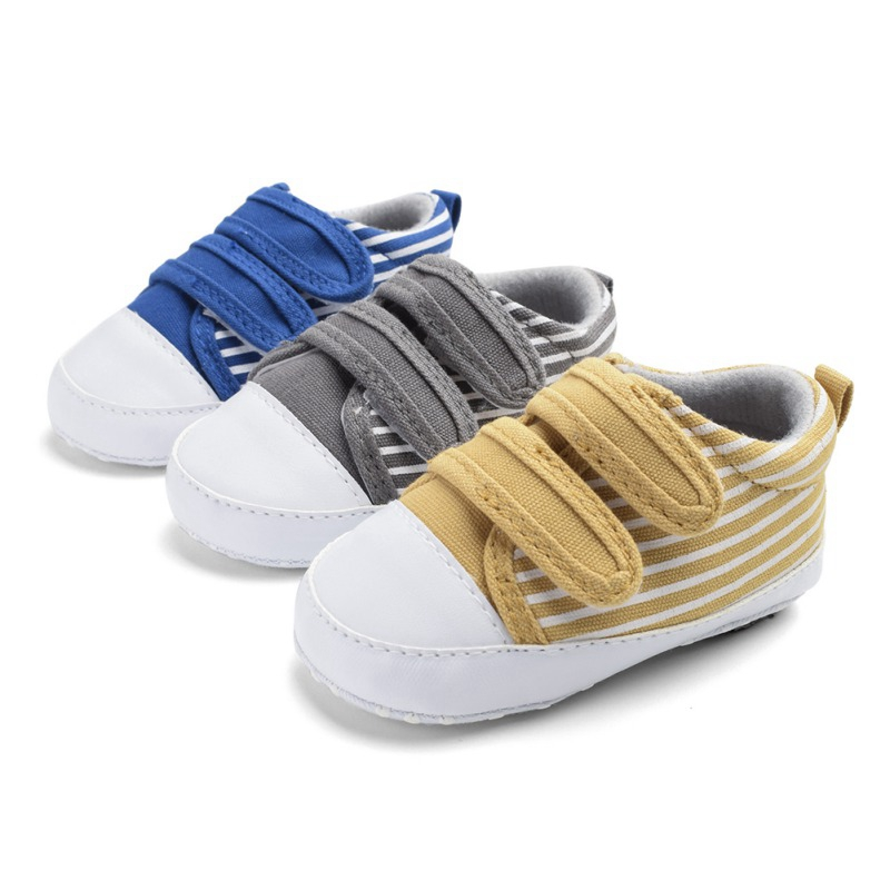 0-18M Newborn Toddler Baby Boy Girl Shoes Soft Sole Baby Canvas Shoes First Walkers Sport Shoes1