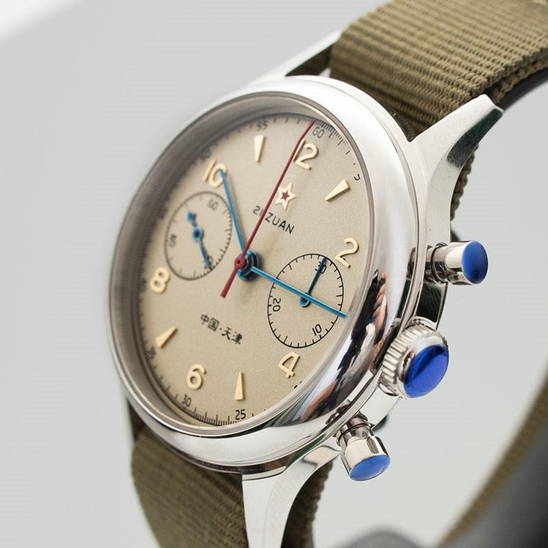 Hd1e41a4dc4cb404dae645ca891269f066 Classic 1963 D304 Chronograph Men Pilot Wrist Watch Mechanical Hand Wind Seagull ST1901 Movement Aviator Watches Sapphire Glass
