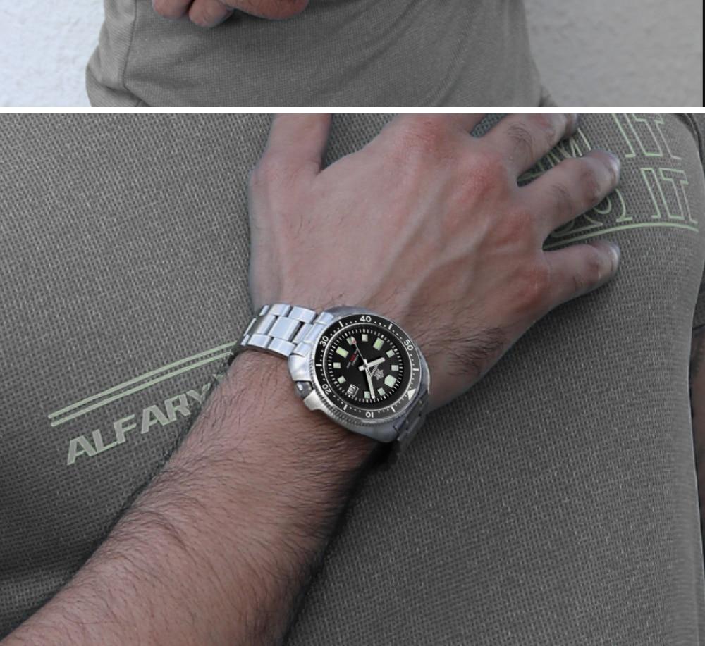 Waterproof automatic Beautiful Mechanical Men's watch 2021