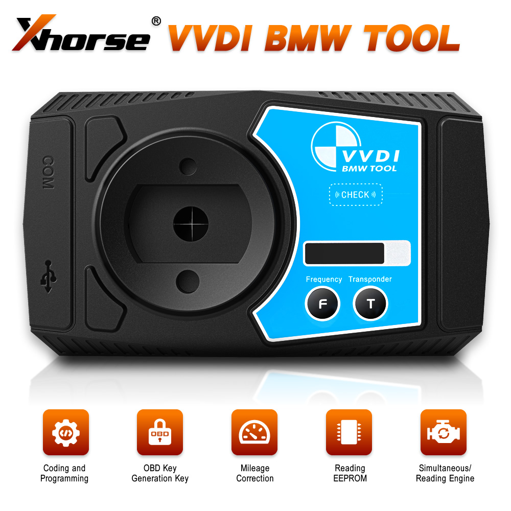 Xhorse VVDI For <font><b>BMW</b></font> V1.4.7 Key programer+<font><b>Diagnostic</b></font> Coding + Programming + Mileage Correction Better Than VVDI2 for <font><b>BMW</b></font> image