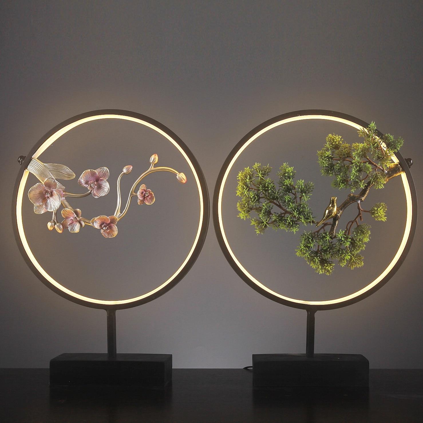 Nouveaux bijoux chinois résine artisanat ornements accessoires pour la maison Zen Style chinois accueille chanson Xuanguan mobilier créatif