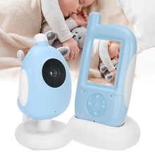 Niania elektroniczna Baby Monitor bezprzewodowy dwukierunkowa rozmowa kamery niania lampka nocna muzyka temperatury domofon tanie tanio YOUTHINK wireless Wideo i Audio NONE Other CN (pochodzenie)