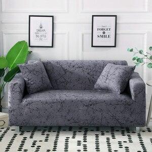 Image 1 - طقم غطاء أريكة مرن من القطن, غطاء قياسي للأريكة، لغرفة المعيشة، غطاء للحيوانات الأليفة، كرسي بذراعين، غطاء ركن الأريكة