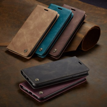 CaseMe Leather Case For Xiaomi 9 9T CC9Pro F2 Pro Cover For Redmi Note 10Pro Max K20 Pro K30Pro Note 8Pro Note 9s 9 Pro Max Case