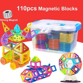 110 sztuk Mini magnetyczne klocki Model klocki plastikowe układanki magnetyczne klocki dla dzieci edukacyjne zabawki tanie i dobre opinie skxnier Z tworzywa sztucznego KD008 110PCS 2-3Y 4-6Y 7-9Y 10-12Y 13-14Y Magnetic building blocks Modeling Construction Set