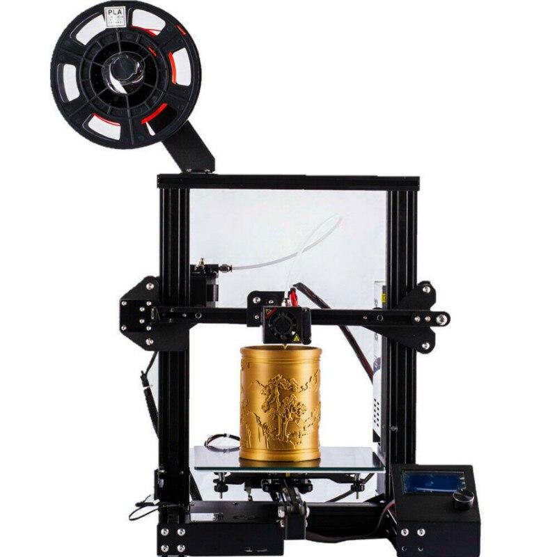 CTC A13 DIY Kit Creality 3D mejorada de alta precisión DIY 3D impresora Auto montaje 220*220*250mm Tamaño de impresión - 3