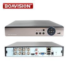 5 En 1 4MP AHD DVR NVR XVR CCTV 4Ch 8Ch 16Ch 1080P 3MP 5MP de seguridad híbrido grabadora DVR cámara de Onvif RS485 coaxial Control P2P
