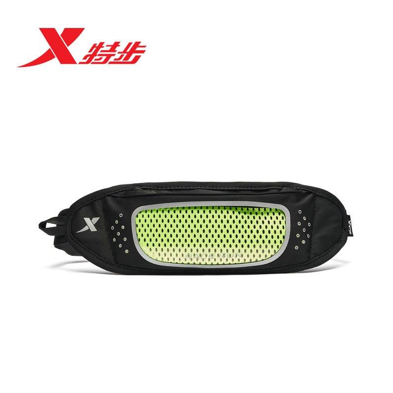 Xtep Men Women Waist Pack Bag Portable Leisure Travel Running Outdoor Fanny Bag 881437149053