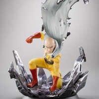 2019 nuevo juego de un solo golpe hombre boxeador Anime 25cm Saitama un golpe hombre figura de acción colección juguetes figura modelo muñeca