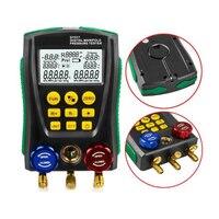 Dy517 medidor de pressão de refrigeração digital hvac vácuo pressão manifold tester Medidores de pressão     -