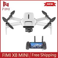 FIMI X8 Mini Kamera Drone Quadcopter 250g-Class Drohnen 8km 4k Kamera Mini Drohne mit Kamera GPS Fernbedienung hubschrauber