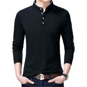 Autumn Male Tops Tees Casual S