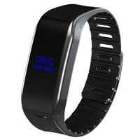 Professional Digital Audio Voice Recorder Pen Activated Sound Dictaphone Wristband Bracelet Watch MP3 Player Wearable OLED Scree