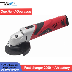 Image 1 - Hephaestus 12V Chargable Angle Grinder Angular Grinding Metal Wood Cutting Machine with 2A Lithium Battery