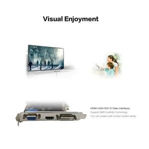 Image 5 - Yeston R5 240 4グラムD3 vaグラフィックカードdirectx 11ビデオカード4ギガバイト/64bit 1333mhz低消費電力gpu 2相