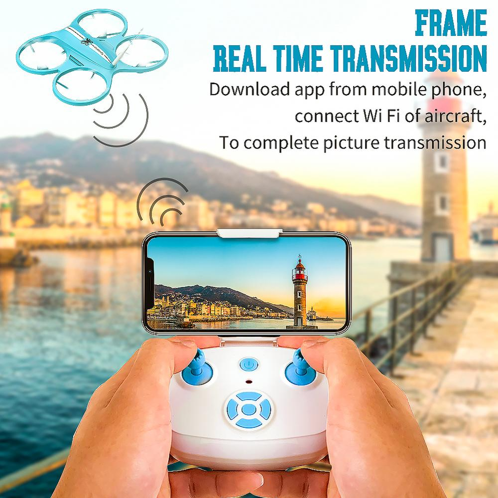 Rc Drone with Camera HD FPV Mini Drone Remote Control Quadcopter Altitude hold Dron Headless Mode Helicopter for Children Toys 3