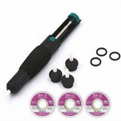 210mm Suction Tin Solder Suckers Desoldering Gun Soldering Iron Pen Hand Tools with pen head desoldering wick