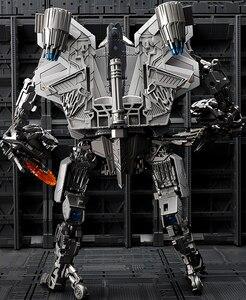 Image 4 - BMB Robot transformacyjny LS04 LS 04 czerwony pająk gwiazda Adjutant dowódca Film LS04S SS Oversize samolot aluminiowe zabawki figurki akcji