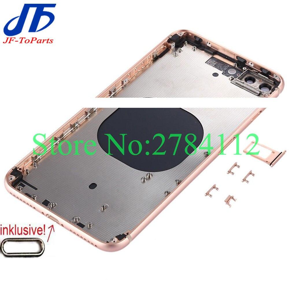 Image 2 - 最高品質 iphone xr/xs 最大/x xsm バックガラスミドルフレームシャーシフルハウジングアセンブリカバードア    グループ上の 携帯電話