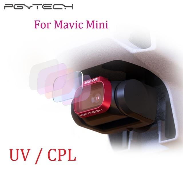 Pgytech uv cpl 카메라 렌즈 필터 dji mavic 미니 드론 액세서리 용 전문 버전