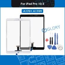 Nowy A1701 A1709 ekran dotykowy dla iPad Pro 10.5 digitizer panel dotykowy zewnętrzna szkło bez przycisku