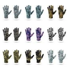 Новые зимние женские спортивные теплые перчатки рукавицы из