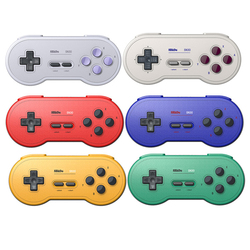 8Bitdo Sn30 BT Gamepad Wireless Gaming Controller for Switch Windows macOS Android Raspberry Pi (Sn Edition)
