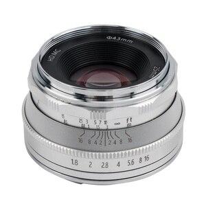 Image 3 - Pergear 25mm F1.8 คู่มือ PRIME เลนส์ทั้งหมดชุดเดียวสำหรับ Fujifilm สำหรับ Sony E Mount & Micro 4/3 กล้อง A7 A7II A7R XT3 XT20
