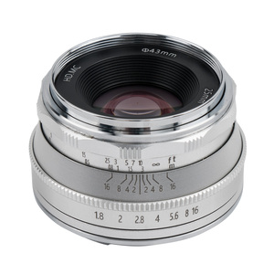 Image 3 - Pergear 25mm f1.8 ידני ראש עדשת לכל אחת סדרת עבור Fujifilm עבור Sony E הר & מיקרו 4/3 מצלמות A7 A7II A7R XT3 XT20