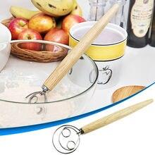 Fouet et Lame à pain danois en acier inoxydable, 13 pouces, meilleur outil de marquage de la pâte, outils de gâteaux pour le pain artisanal fait maison