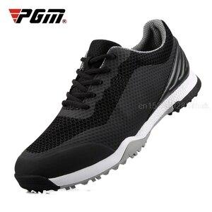 Image 2 - 골프 신발 남자 스 니 커 즈 Anti skid 유일한 통기성 스 니 커 즈 방수 소프트 골프 신발 남자 훈련 스포츠 신발